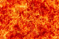 Hellfire als achtergrond royalty-vrije stock foto's