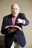 Hellfire And Brimstone Preacher Stock Image