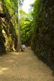 The Hellfire Pass in Kanchanaburi. Thailand Royalty Free Stock Photography