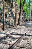 Hellfire Pass in Kanchanaburi. Thailand, in April 2012 Stock Photo