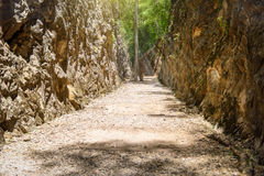 Hellfire pass, Kanchanaburi, Thailand Royalty Free Stock Photos