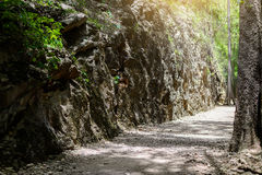 Hellfire pass, Kanchanaburi, Thailand Royalty Free Stock Photography