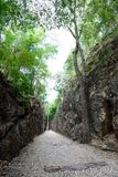 Hellfire Pass at Kanchanaburi, Thailand Royalty Free Stock Photos