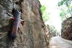 Hellfire Pass at Kanchanaburi, Thailand Stock Photography