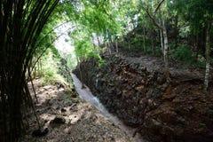 Hellfire Pass at Kanchanaburi, Thailand Royalty Free Stock Images