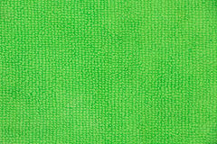 Hellgrüne microfiber Stoffbeschaffenheit Stockbilder