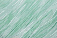 Hellgrüner Gewebevorhangvorhang-Beschaffenheitshintergrund Lizenzfreies Stockbild
