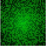 Hellgrüner Mosaikhintergrund Stockbild