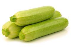 Hellgrüner Zucchini lizenzfreie stockfotos