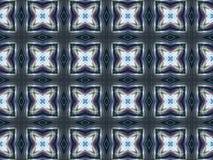 Hellgraues abstraktes Kaleidoskop Stockbild