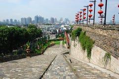 Helling van Poort Zhonghua in Nanjing stock afbeeldingen