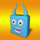 Hellish cube Stock Photos