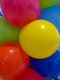 Hellium balloons in different colors Royalty Free Stock Photos