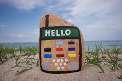 Hello Stock Foto