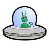 Hello alien Stock Photos