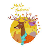 Hello autumn Stock Photo