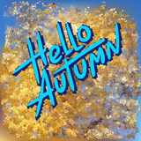 Hello autumn Royalty Free Stock Photography