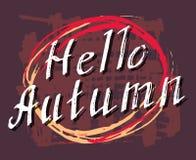 Hello Autumn. Stock Photography