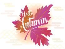 Hello Autumn Stock Photography