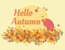 Hello autumn Stock Photos