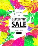 Hello Autumn Sale Royalty Free Stock Photography