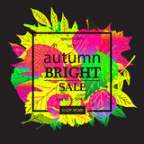 Hello Autumn Sale Stock Photography