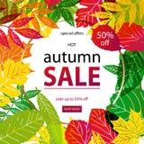 Hello Autumn Sale Royalty Free Stock Photos
