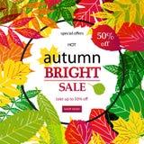 Hello Autumn Sale Stock Images