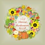 Hello, autumn! Royalty Free Stock Images