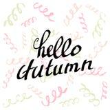 Hello Autumn. Royalty Free Stock Photos