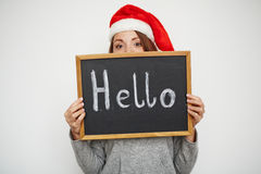 Hello Christmas Stock Photos