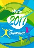 Hello-de zomer Royalty-vrije Stock Afbeelding
