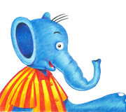 Hello elephent Royalty Free Stock Photo