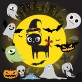 Hello,Halloween Royalty Free Stock Photos