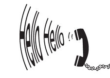 Hello hello - vector Stock Photography