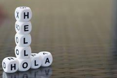 Hello hola Royalty Free Stock Photography