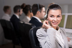 Hello, how can i help you? Royalty Free Stock Photo