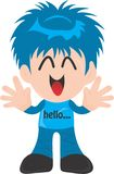Hello3. Iyan85 cartoon's portofolio, featuring high-quality, royalty-free images available for purchase on dreamstime Royalty Free Stock Photo