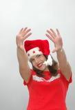 Hello Kerstmis! Royalty-vrije Stock Foto