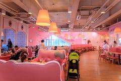 Hello Kitty海岛,其中一个10月的最普遍的旅游胜地 库存照片