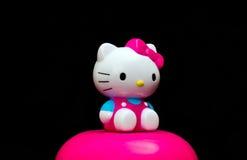 Hello Kitty Fotografering för Bildbyråer