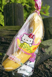 Hello kitty branded banana in japan Stock Photo