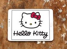 Hello Kitty-embleem royalty-vrije stock afbeelding