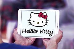 Hello Kitty-embleem stock afbeeldingen