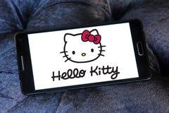 Hello Kitty-embleem stock foto's