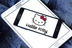 Hello Kitty-embleem stock afbeelding