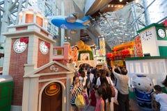 Hello Kitty Exhibition i Hong Kong Arkivfoton