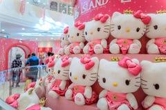 Hello Kitty Island, één van de populairste toeristenvlekken op oct royalty-vrije stock afbeeldingen