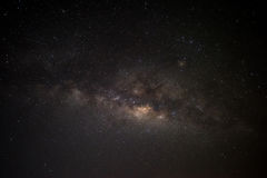 Hello Milky Way, Lam Isu, Kanchanaburi, Thailand Stock Photography