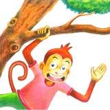 Hello mongkey Stock Photos